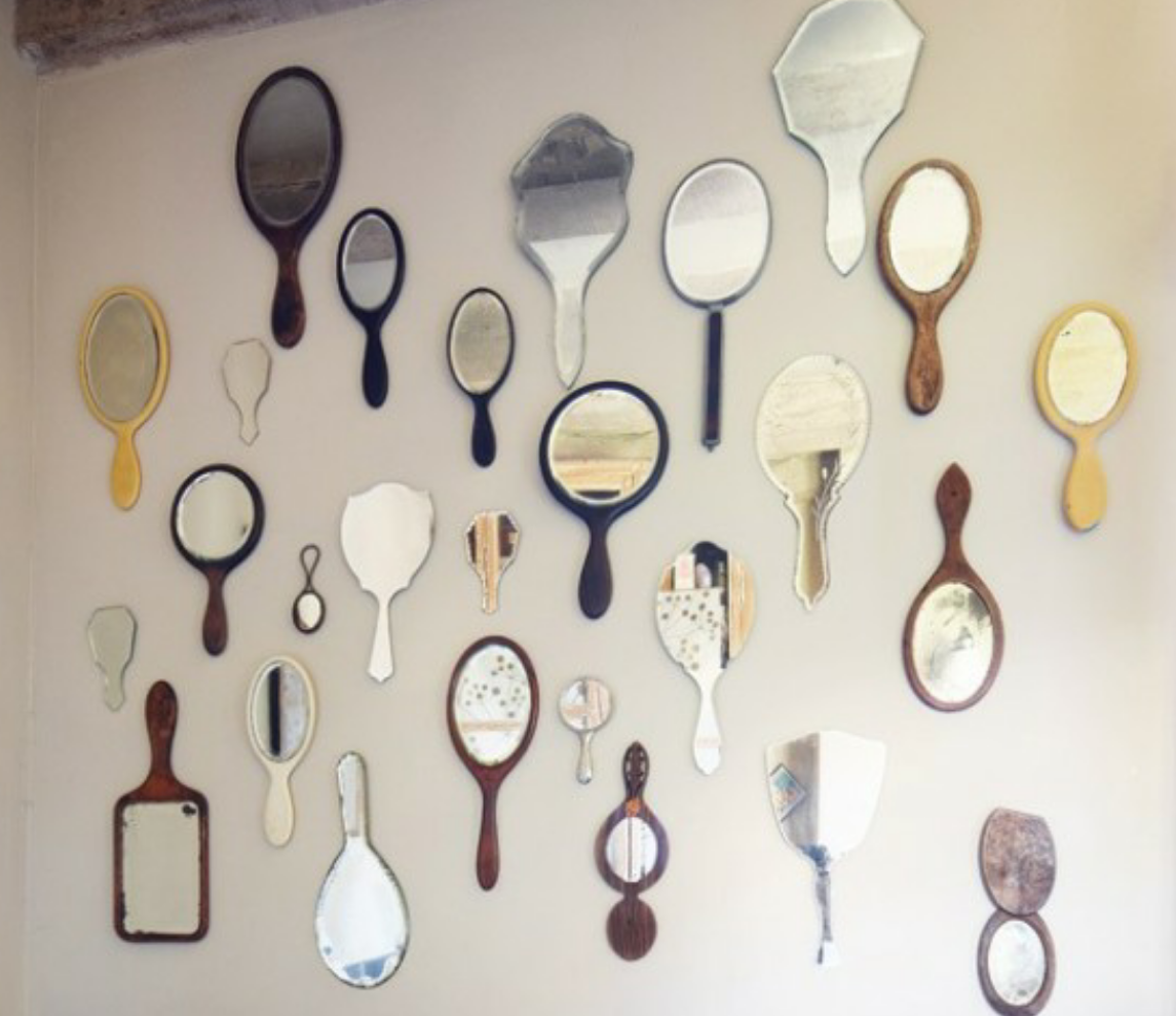 L accumulation c deco Miroir 2 metres